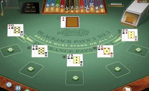 atlantic city blackjack rules