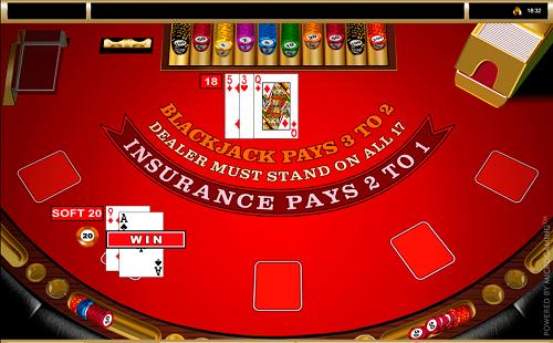 500x310 European Blackjack Online