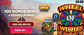Spin Casino Bonuses