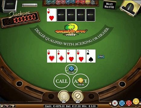 Caribbean Stud Poker Casino Game