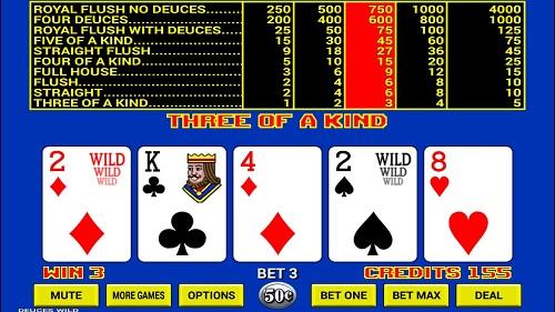 Video Poker Online Real Money
