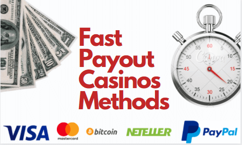 Fast Payout Gambling Sites Payout Method