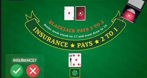 Insurance Bet in Blackjack