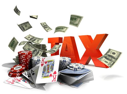 pay tax on gambling winning