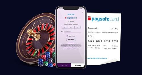 mobile Paysafecard casinos
