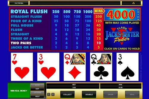 How To Play Video Poker and Win