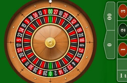 00 in roulette
